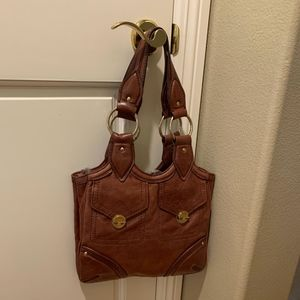 Marc by Marc Jacobs Tan Leather Shoulder Bag